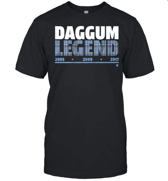 Daggum Legend 2005 2009 2017 shirt Classic Men's T-shirt