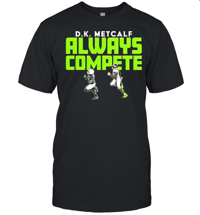 D.K Metcalf always compete shirt Classic Men's T-shirt