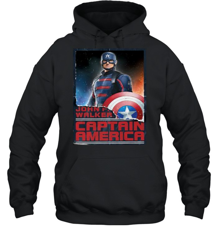 Marvel The Falcon and the Winter Soldier New Captain America  Unisex Hoodie