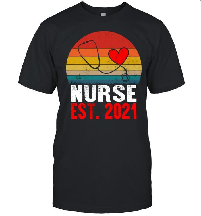 Nurse Est 2021 Nurse Week NICU NP CNA CMA STNA shirt Classic Men's T-shirt