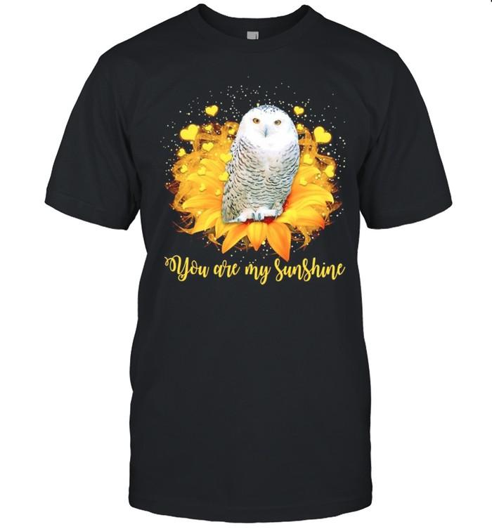 Owl sunflower you are my sunshine shirt Classic Men's T-shirt