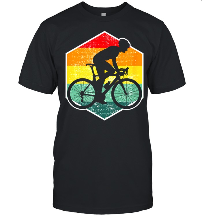 Racing bike cyclist road bike racing time trial shirt Classic Men's T-shirt