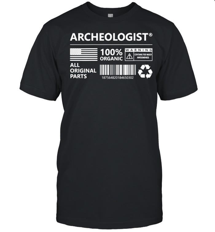 Womens Archeologist Marking Archeology shirt Classic Men's T-shirt