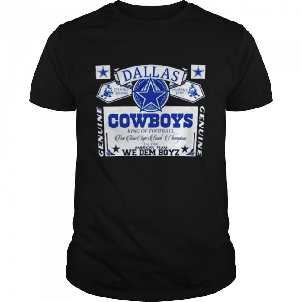 Dallas Cowboys We Dem Boyz  Classic Men's T-shirt