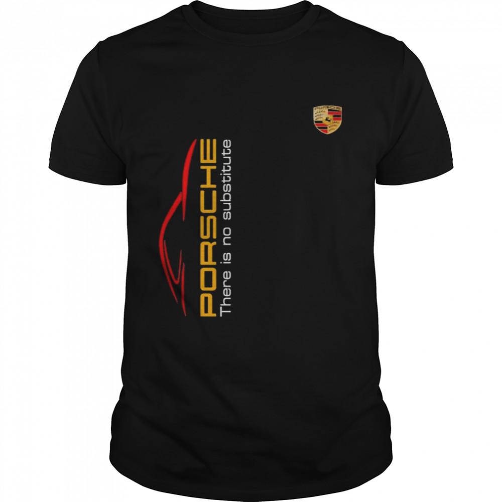Porsche There Is Substitute  Classic Men's T-shirt