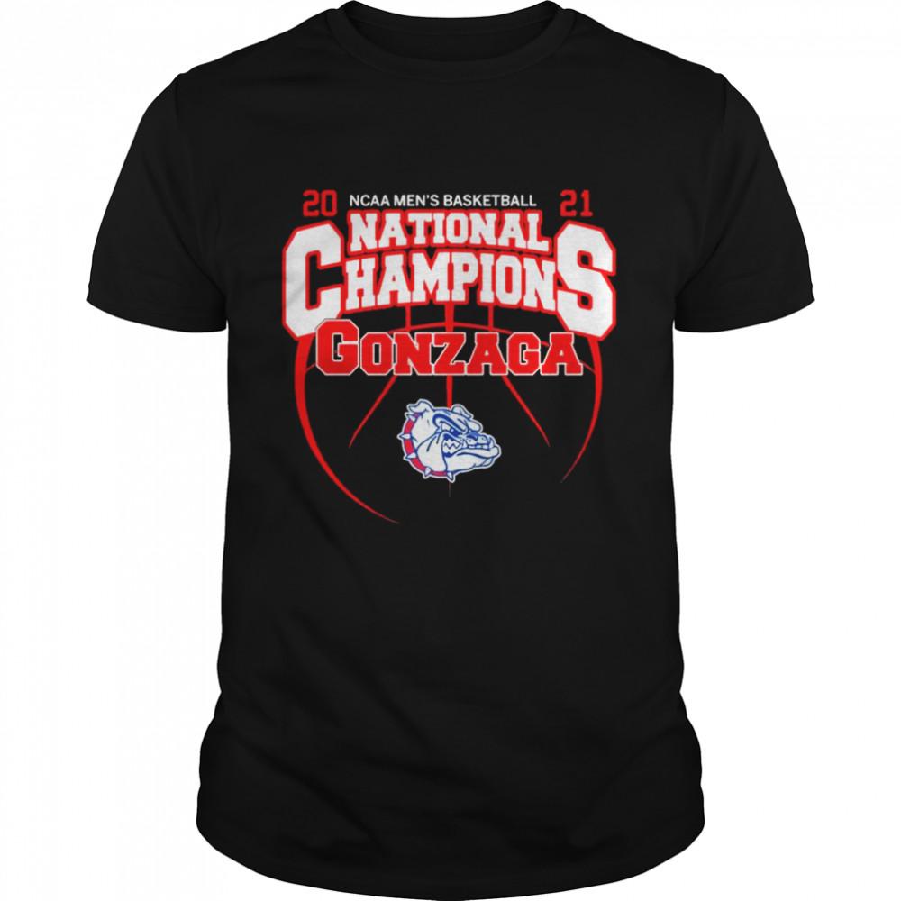 The Gonzaga Bulldogs 2021 NCAA Mens Basketball National Champions shirt Classic Men's T-shirt