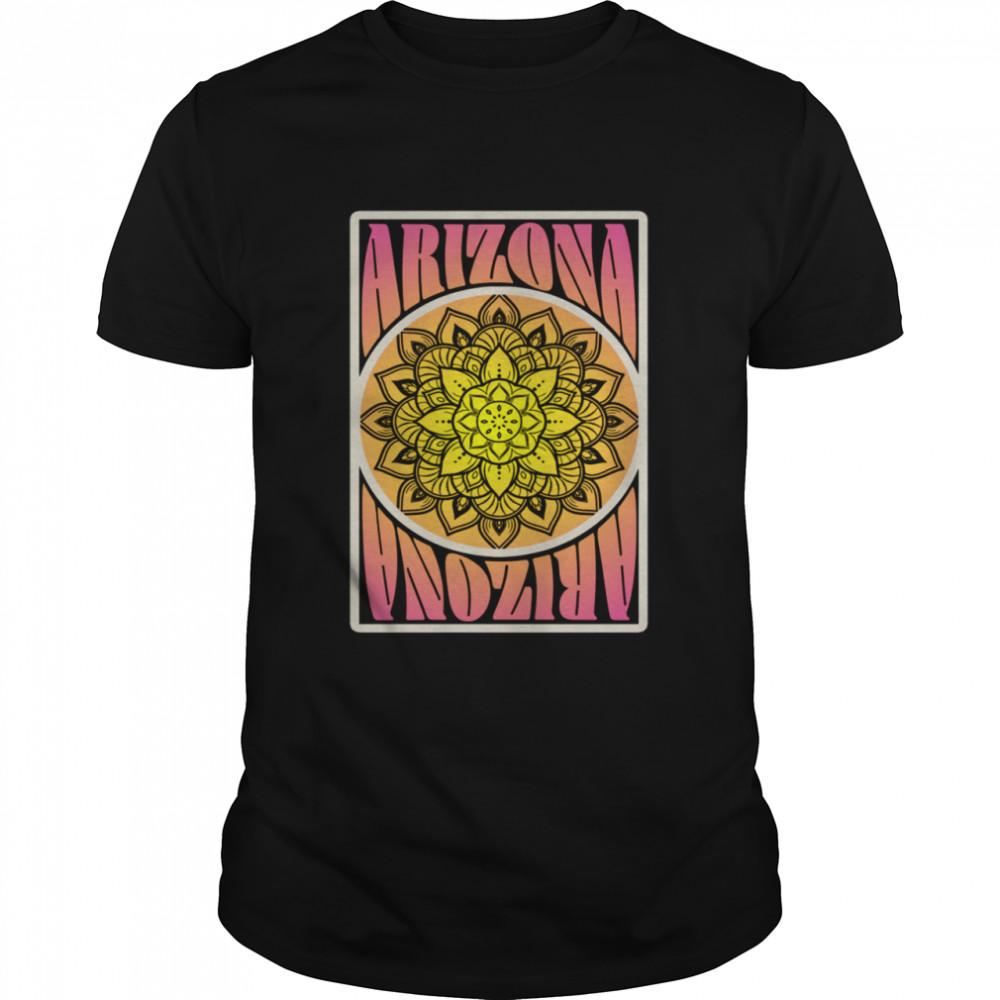 Arizona State Vintage Colors Psychedelic Retro  Classic Men's T-shirt