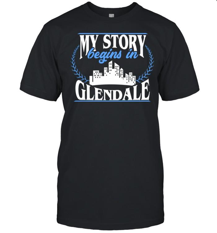 Born in Glendale  Classic Men's T-shirt