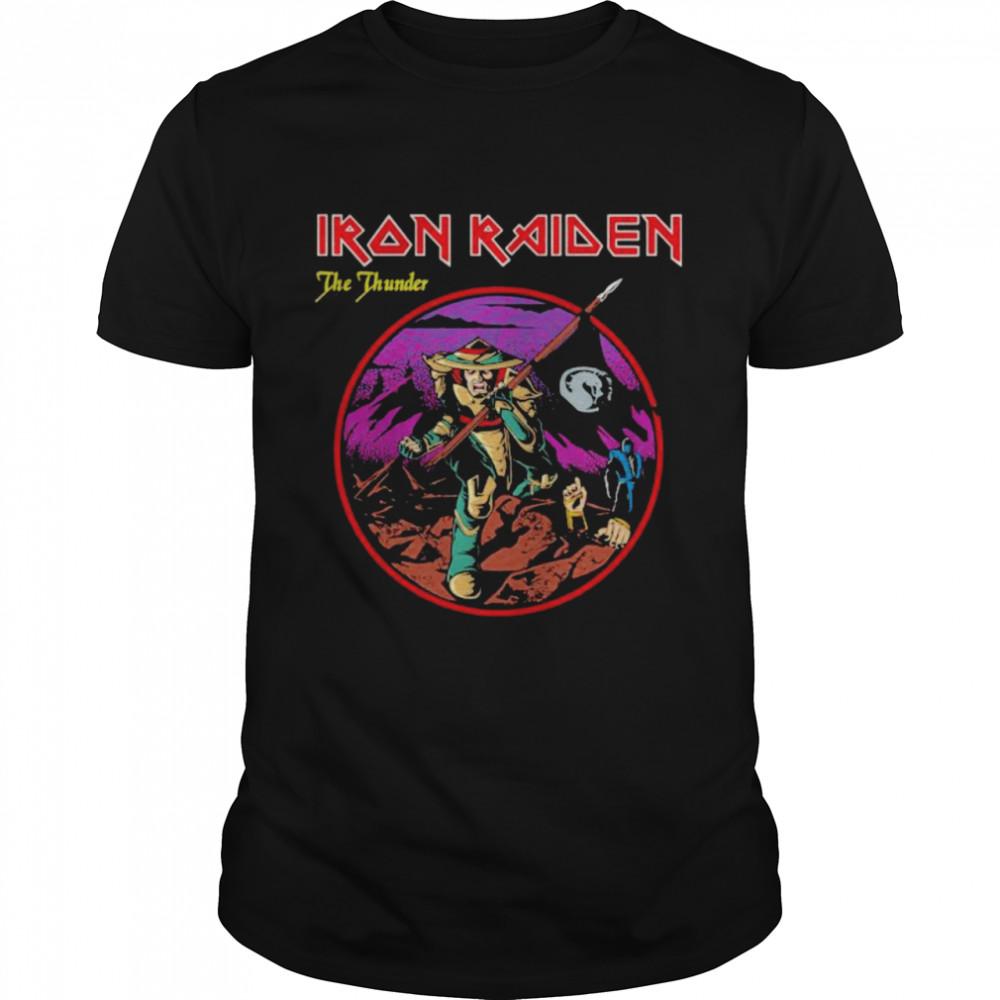 Iron Raiden The Thunder  Classic Men's T-shirt