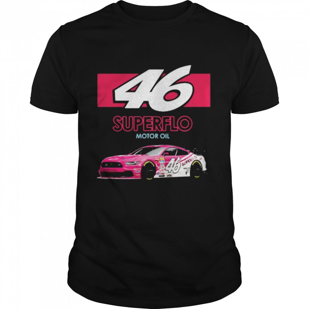 Mello Yello 46 Superflo Motor Oil Car Pink  Classic Men's T-shirt