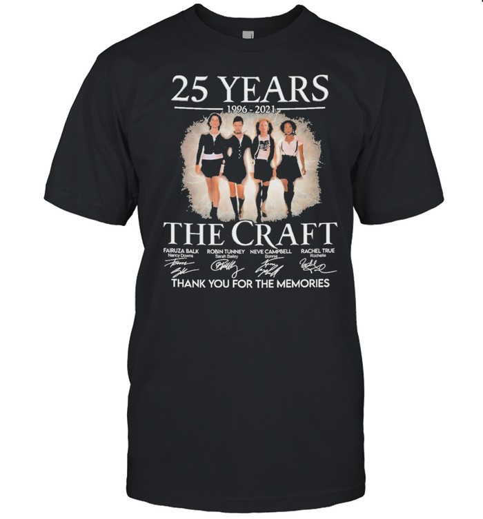 The craft 25 years 1996 2021 thank you for the memories shirt Classic Men's T-shirt