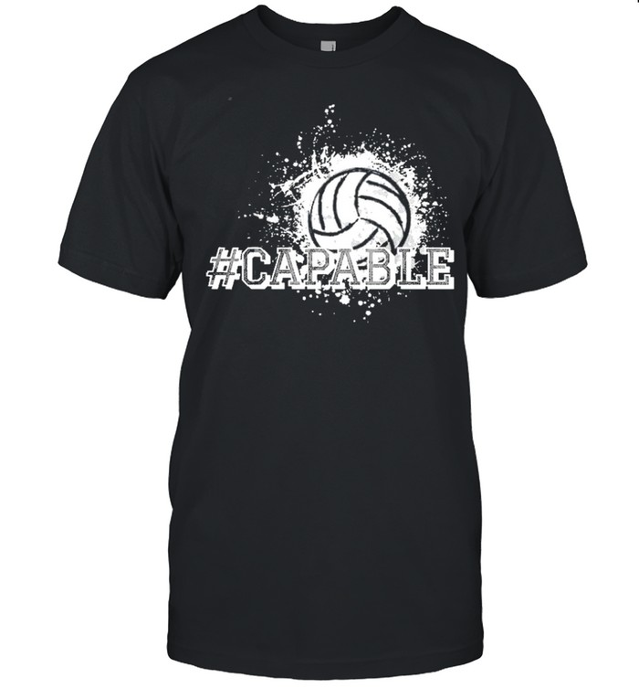 Volleyball capable shirt Classic Men's T-shirt