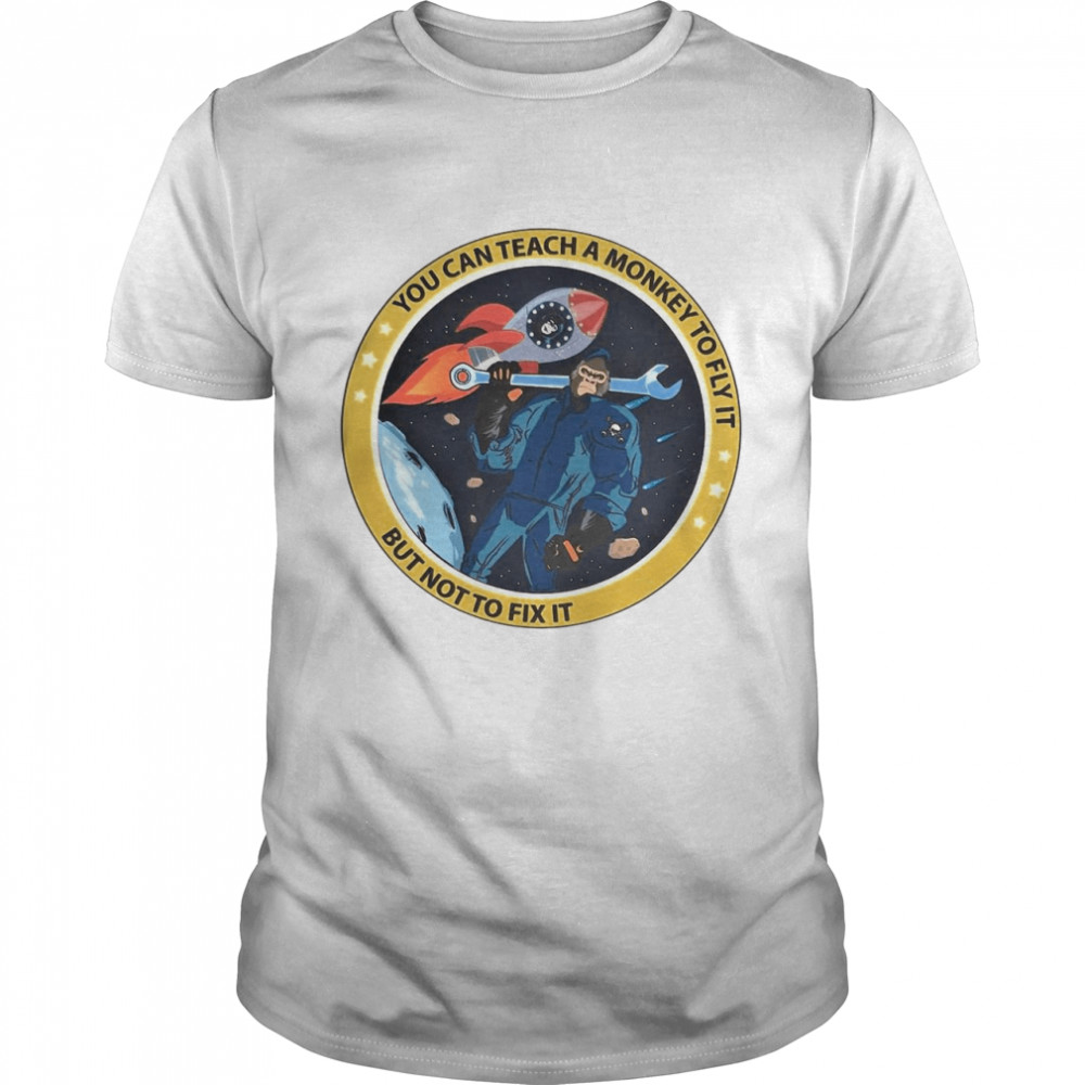 Bigfoot You Can Teach A Monkey To Fly It But Not To Fix It T-shirt Classic Men's T-shirt