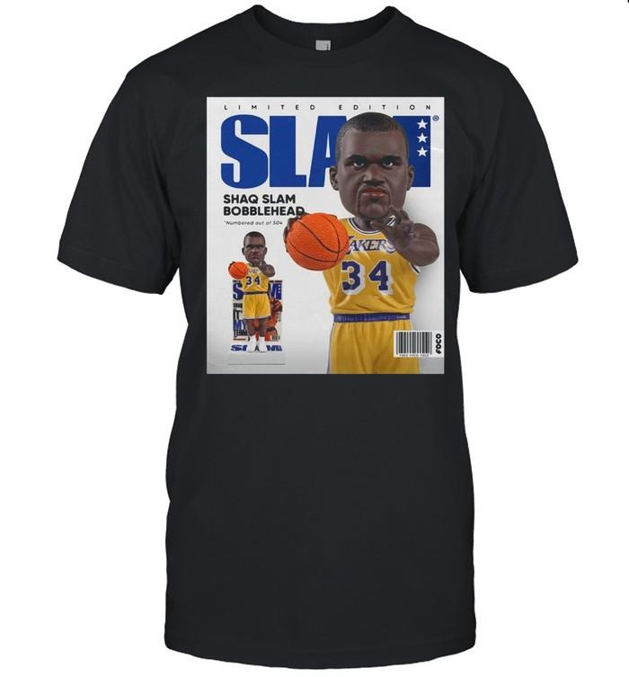 Limited Edition Slam Shaq Slam Bobblehead shirt Classic Men's T-shirt