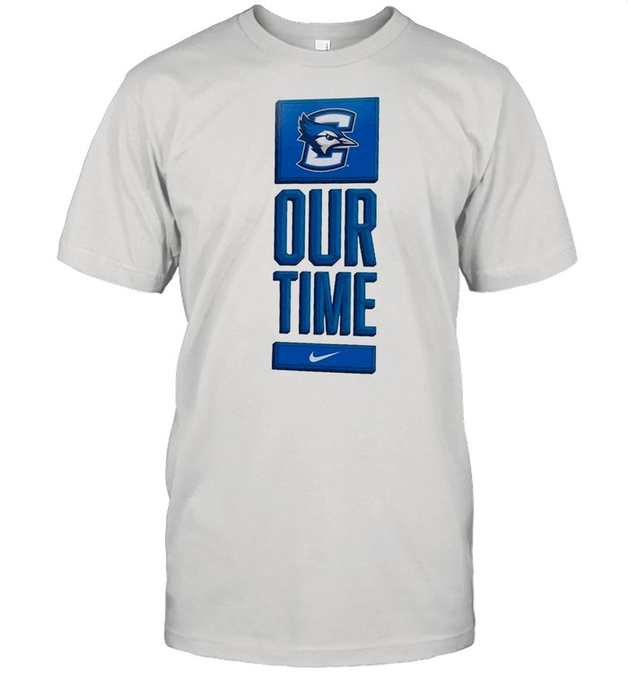 Nike Creighton Bluejays Basketball Our Time Bench Legend shirt Classic Men's T-shirt