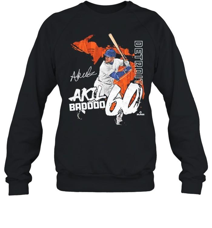 Detroit Akil Baddoo signature shirt Unisex Sweatshirt
