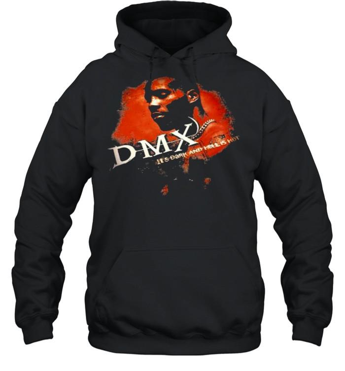 Dmx It's Dark And Hell Is Hot Rap  Unisex Hoodie