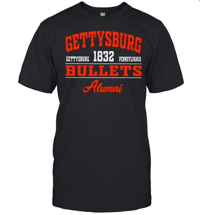 Gettysburg Bullets Alumni 1832 Pennsylvania  Classic Men's T-shirt