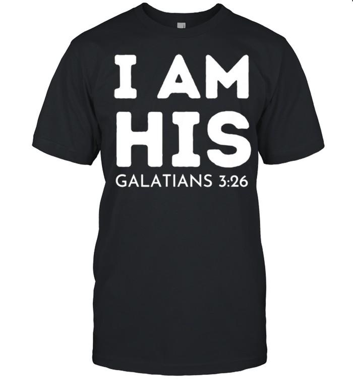I Am His Galatians 326 shirt Classic Men's T-shirt