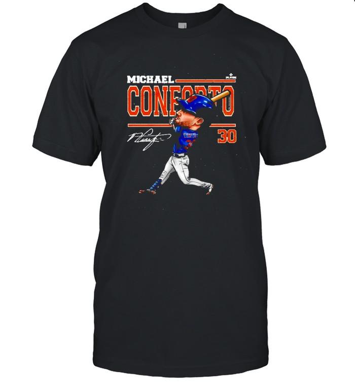 Michael Conforto Cartoon signatures shirt Classic Men's T-shirt