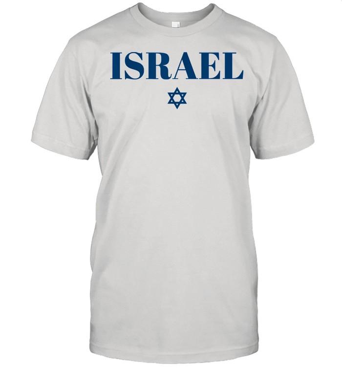 Israel Star Flag White Israel  Classic Men's T-shirt