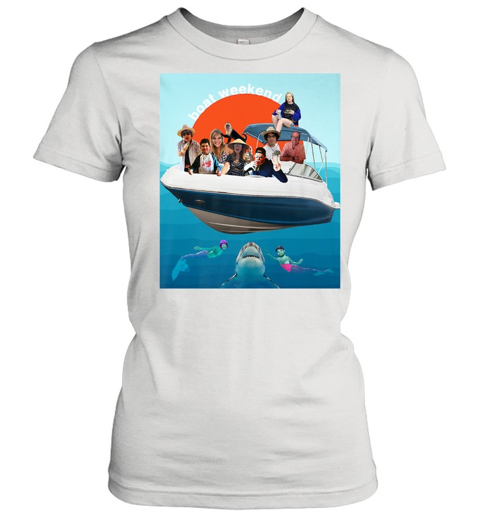 Kaitlin's Boat Weekend Birthday  Classic Women's T-shirt