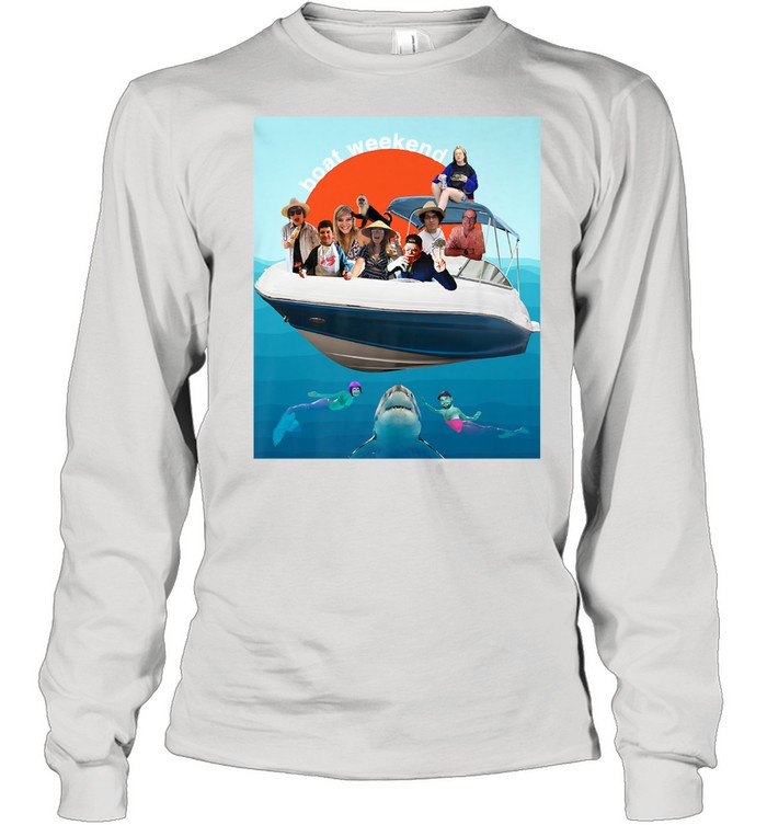 Kaitlin's Boat Weekend Birthday  Long Sleeved T-shirt