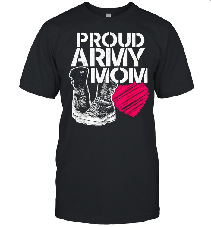 Mothers Day Proud Army Mom shirt Classic Men's T-shirt