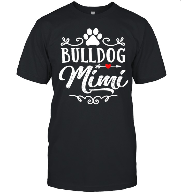 Bulldog Mimi Bulldog Mimi Mother's Day Bulldog shirt Classic Men's T-shirt