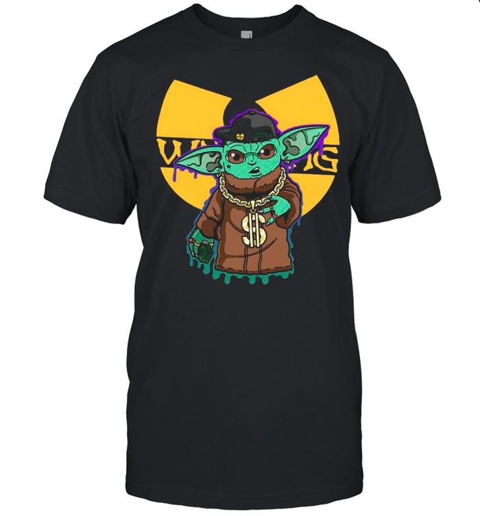 Star Wars Baby Yoda Wu – Tang  Classic Men's T-shirt