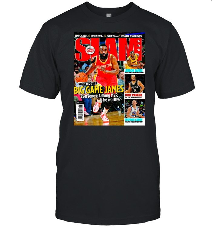 SLAM June 2015 James Harden 2021 shirt Classic Men's T-shirt