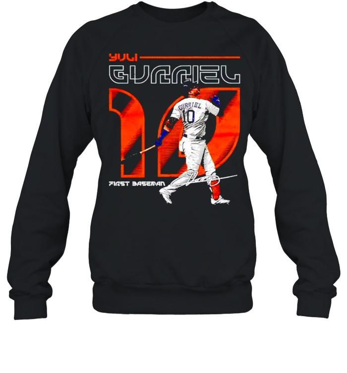 Houston Baseball Yuli Gurriel first baseman signature shirt Unisex Sweatshirt