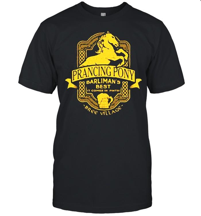 Prancing Pony Barkman Best It Comes In Bree Village  Classic Men's T-shirt
