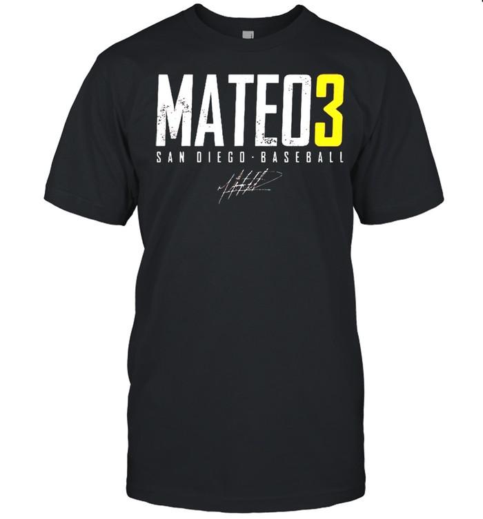San Diego Baseball Jorge Mateo 3 signature shirt Classic Men's T-shirt