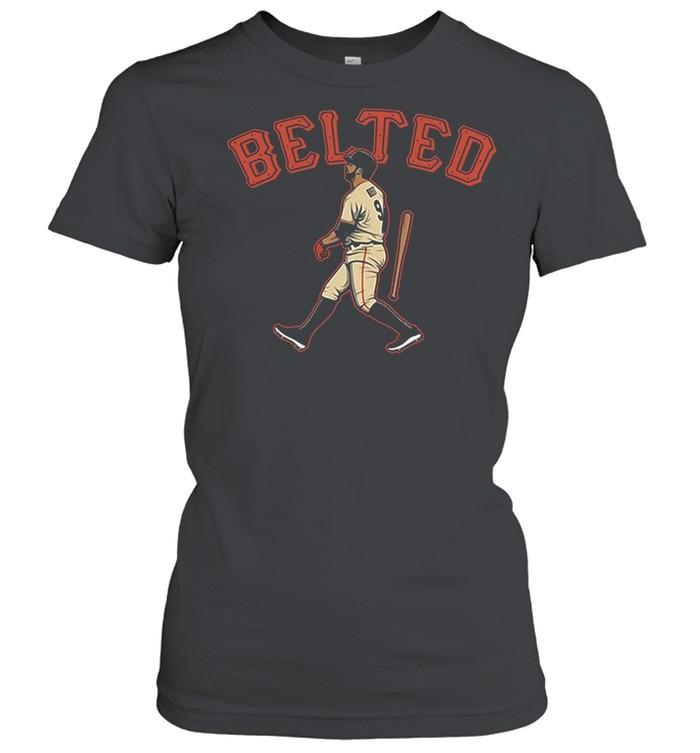Brandon Belts Homers In San Francisco shirt Classic Women's T-shirt