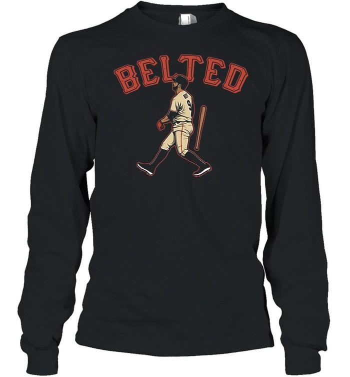 Brandon Belts Homers In San Francisco shirt Long Sleeved T-shirt