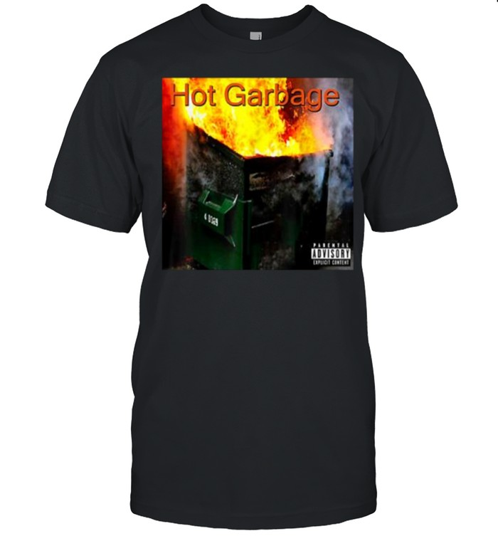Hot Garbage Album Parental Advisory  Classic Men's T-shirt
