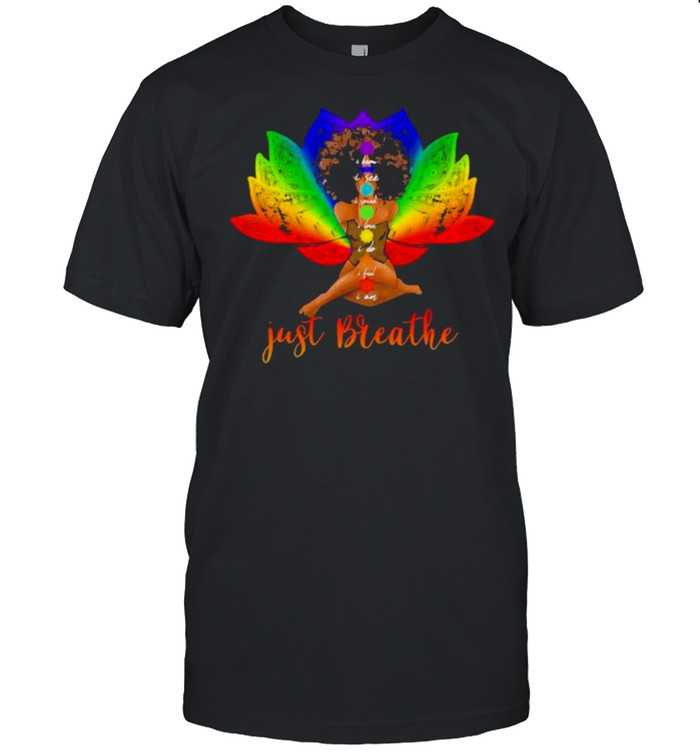 I Know I See I Speak I Love I Do I Feel I am Just Breathe Black Girl  Classic Men's T-shirt