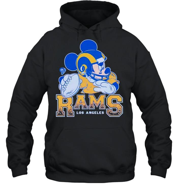 Los Angeles Rams Disney Mickey shirt Unisex Hoodie