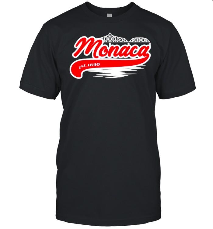 Monaca PA Hometown Est 1840  Classic Men's T-shirt