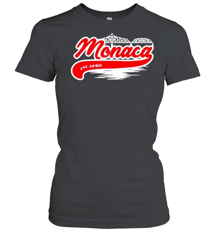 Monaca PA Hometown Est 1840 Classic Women's T-shirt