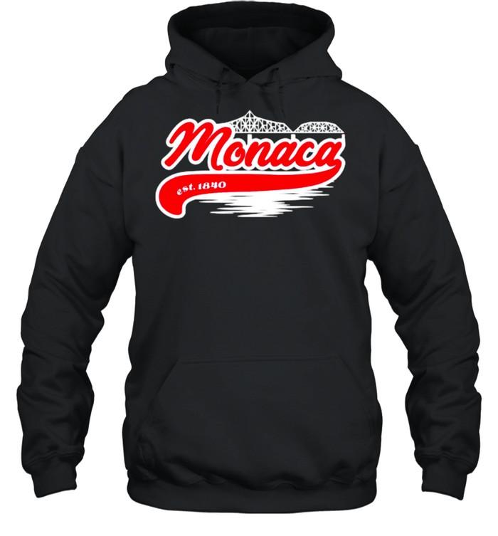 Monaca PA Hometown Est 1840 Unisex Hoodie