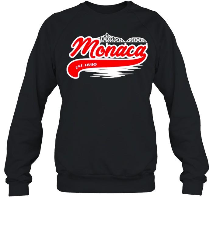 Monaca PA Hometown Est 1840 Unisex Sweatshirt