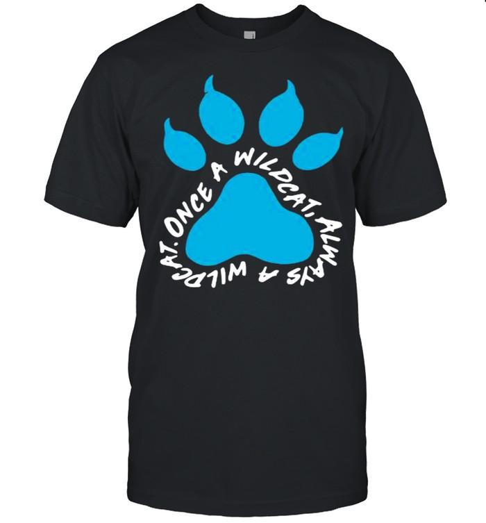 Paw once a wildcat always a wildcat shirt Classic Men's T-shirt