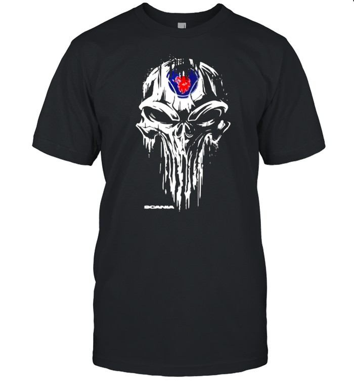 Punisher With Scania Logo  Classic Men's T-shirt