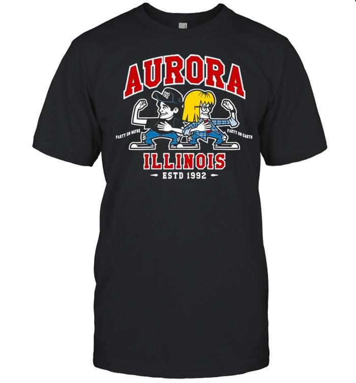 Jay & Silent Bob Chibi Aurora Illinois shirt Classic Men's T-shirt