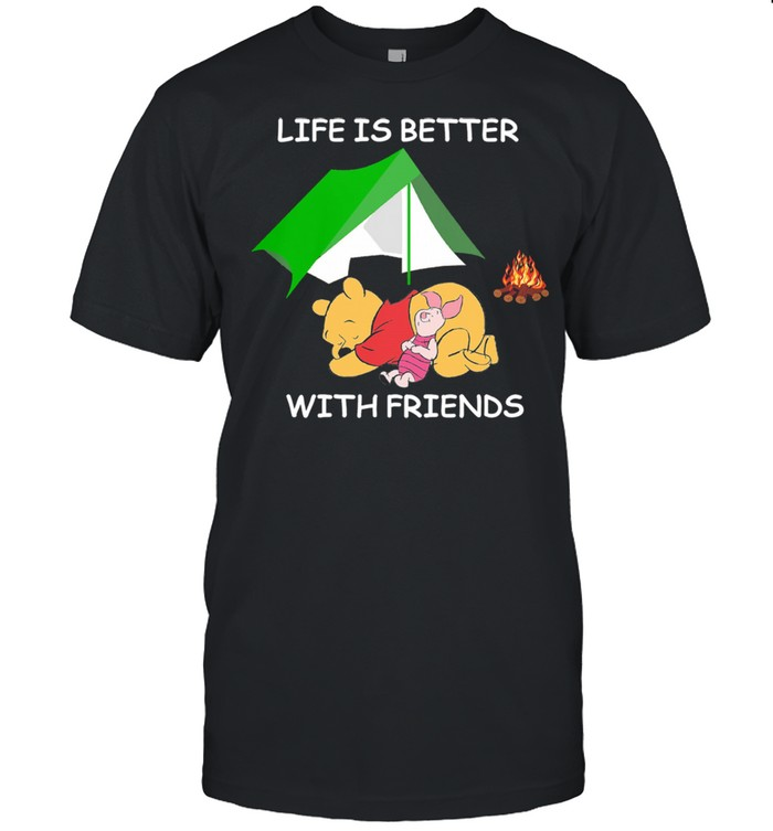 Life better with Friends shirt Classic Men's T-shirt