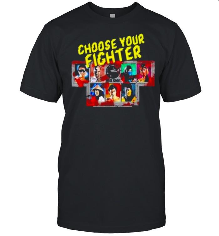 Mortal KomBat KlasSic Choose Your Fighter shirt Classic Men's T-shirt
