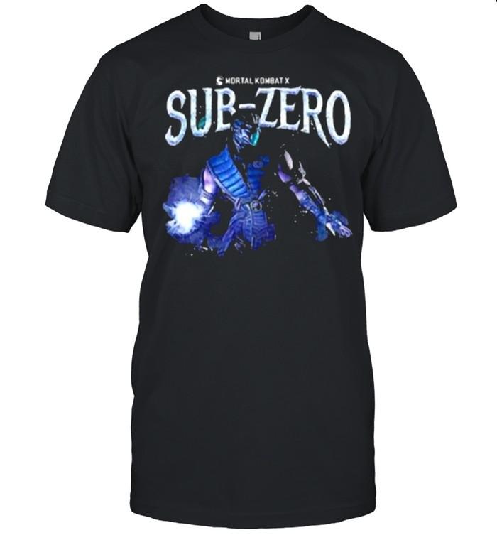 Mortal Kombat Sub-Zero  Classic Men's T-shirt