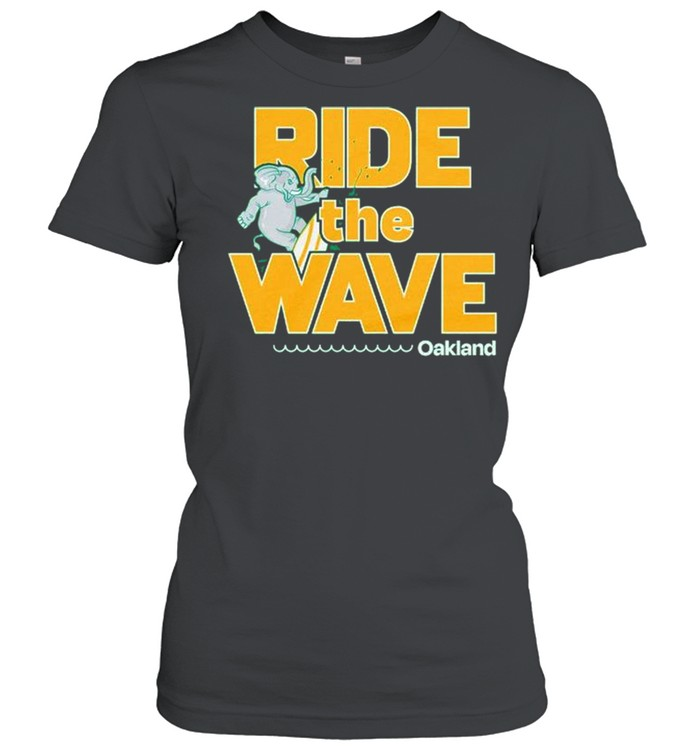 Oakland ride the wave shirt Classic Women's T-shirt